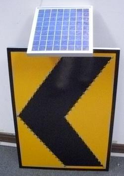 LED chevron sign