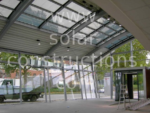 thin film solar window, Double-Glass Frameless Bifacial Solar Panel