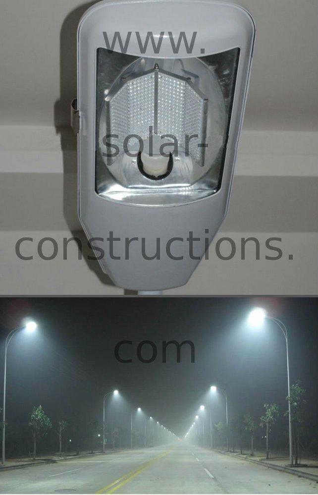 New LED streetlights