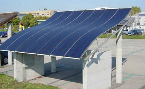 Flexible Solar Modulen