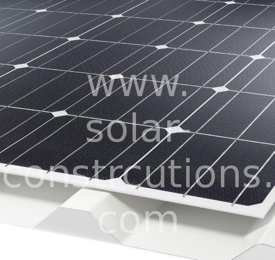 frameless solar panel
