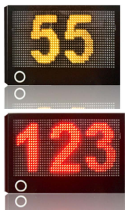 led snelheidsdisplay solar