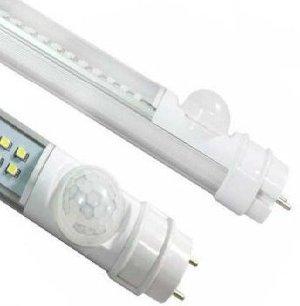 Movement sensor on LED tubes