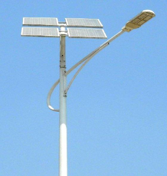 Eclairage solaire led for Lampadaire exterieur rue