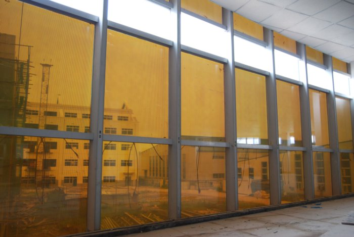 thinfilm solar glass for facades