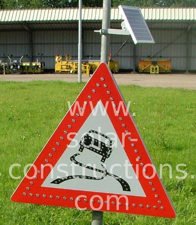 autonomous road sign led