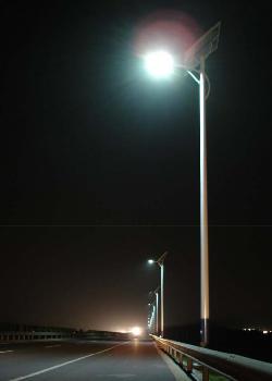 solar lamps street