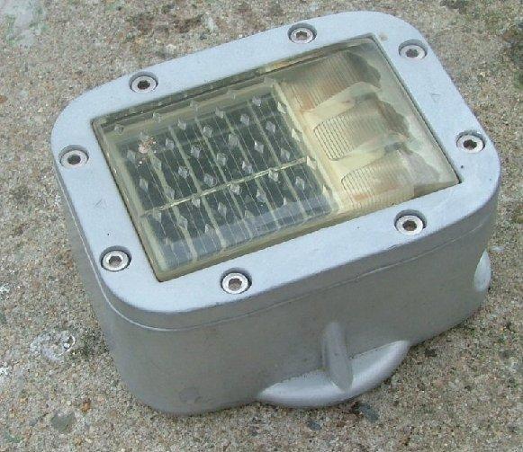 solar road marker built-in the street