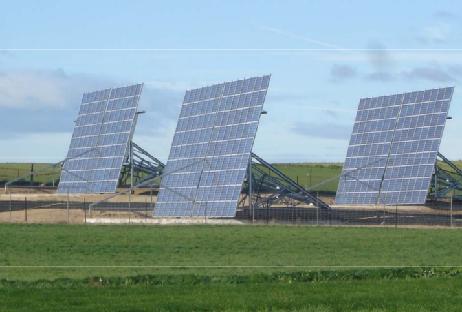 Utility scale solar tracker