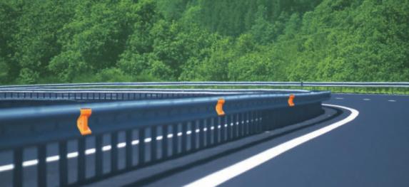 solar led guardrail delineator