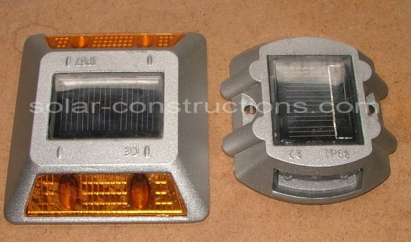 LED signalization for roads