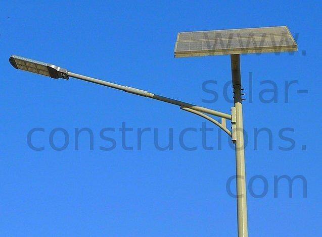 Affrodable led solar street light