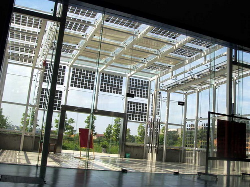 architecture solar windows facade