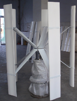 Vertical wind turbine - VAWT -
