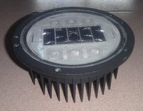 blinking solar road guidance