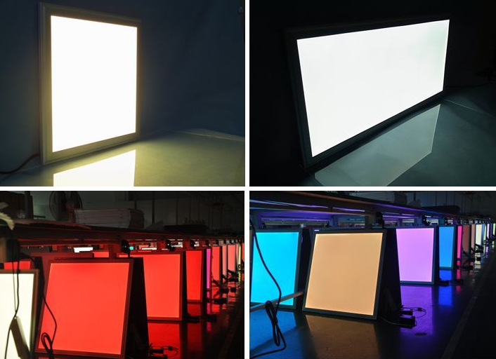 LED panel dimmable in rgb colours, LED Flat Panels are an edge-lit, slim-line, energy-saving update for any office,