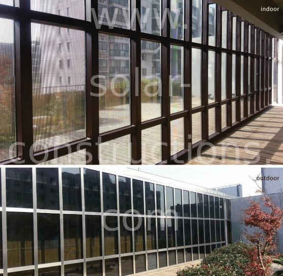 Vidros Laminados Fotovoltaicos Integração Arquitetônica bipv