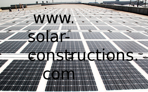 flexible solar panels for epdm roofs with no penetration of the roof