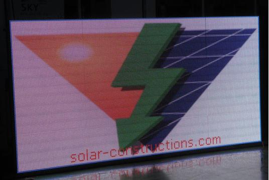 led advertisement screen