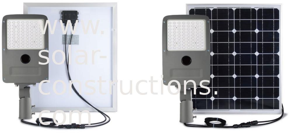 led floodlight autonomous for carport or shelter