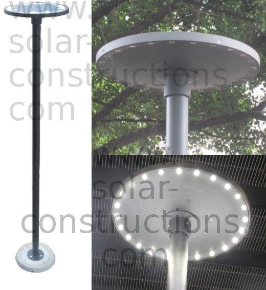 led parklight solar park lamp