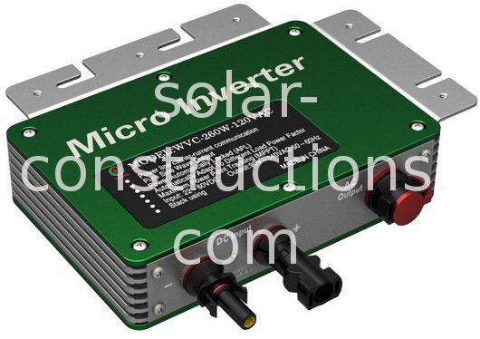solar micro inverter 260W