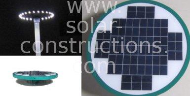 park lamp post led solar