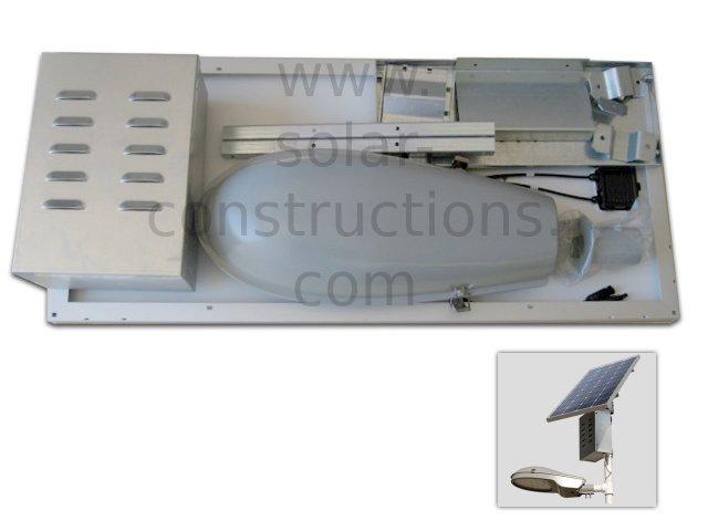 solar street light kit integrated for pole mount, solar lamppost