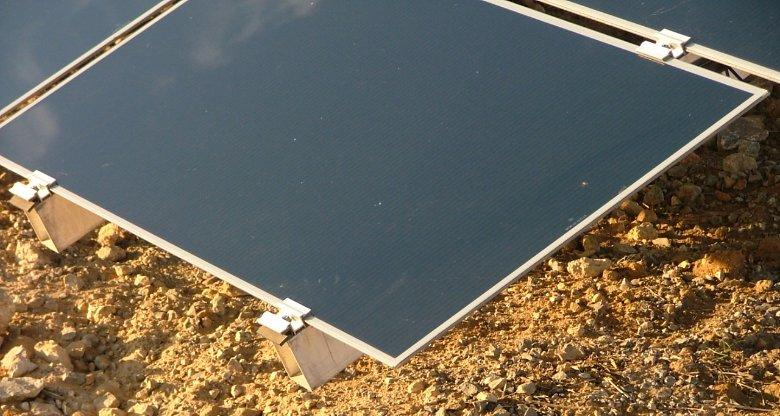 thin film solar panel amorphe