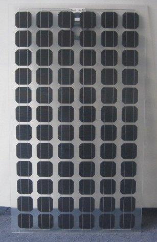 transparant zonnepaneel mono