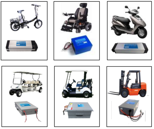 Low Speed Vehicles LiFePO4 Battery
