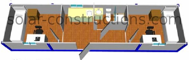 student container house