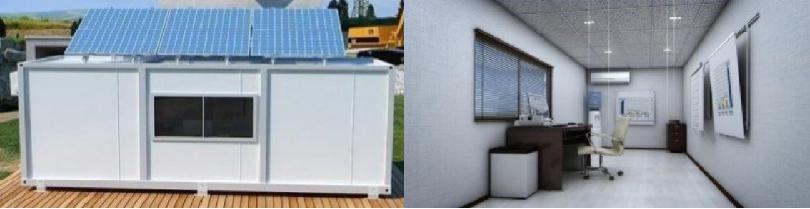 Modulaire woning modulaire bouw container woning tijdelijke huisvesting - Huis in containers ...