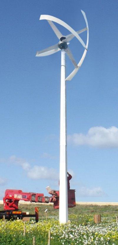aeolos v 10kw off grid wind turbine