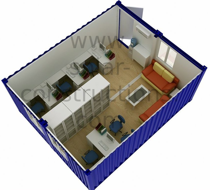 Eco construction modulaire for Construction modulaire container