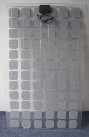 Transparente Und Semi Transparente Solarmodulen