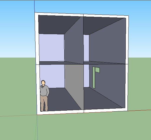 Example of a modular house