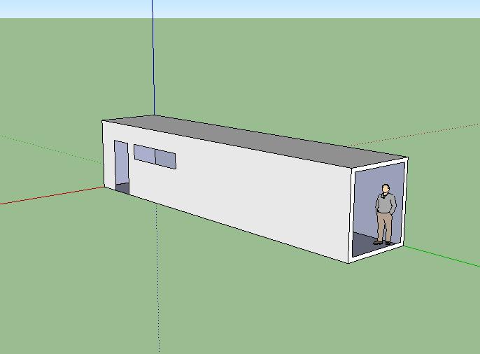 container house modular living senior citizen house