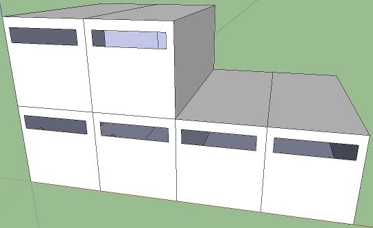 modular constructions with possibility to expand