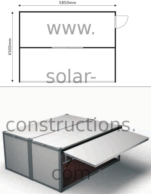 modular food stand snack bar