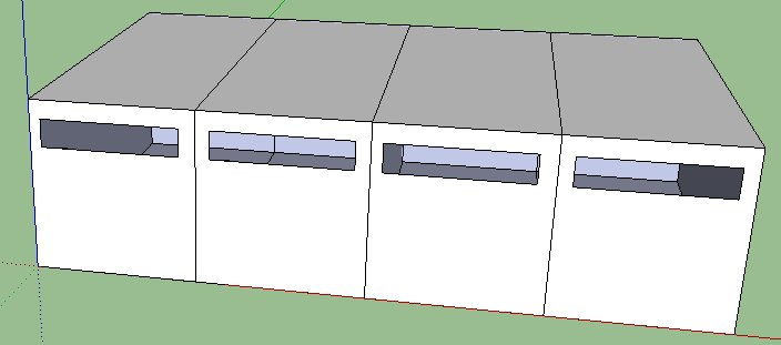 modular house ready for extention