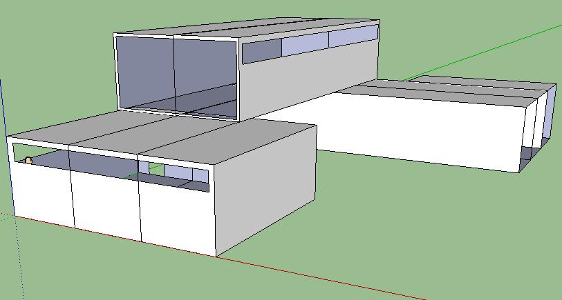 spacious modern modular villa