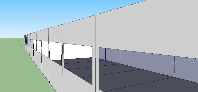 temporary school building