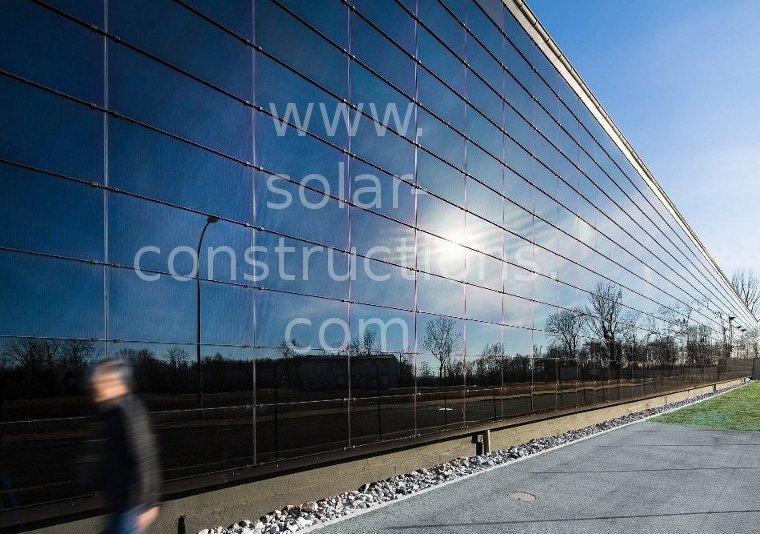 solar energy facade system